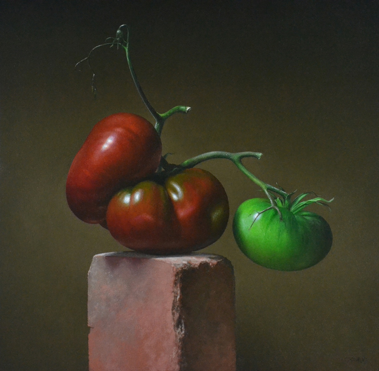 Heirloom Tomatoes by Patricia Coonrod
