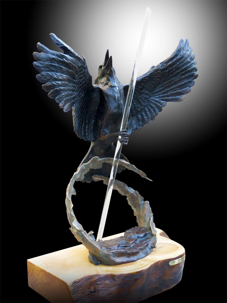 Raven Steals the Light by Deanne McKeown