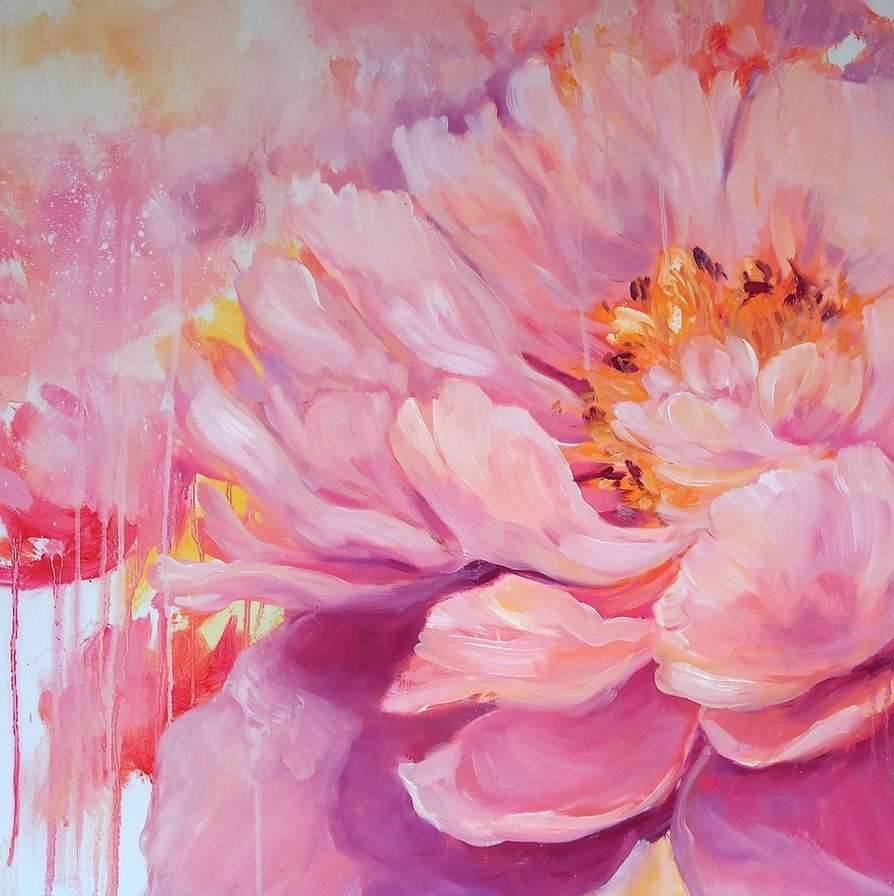 Crystal-Beshara-Florals-oil-on-canvas-