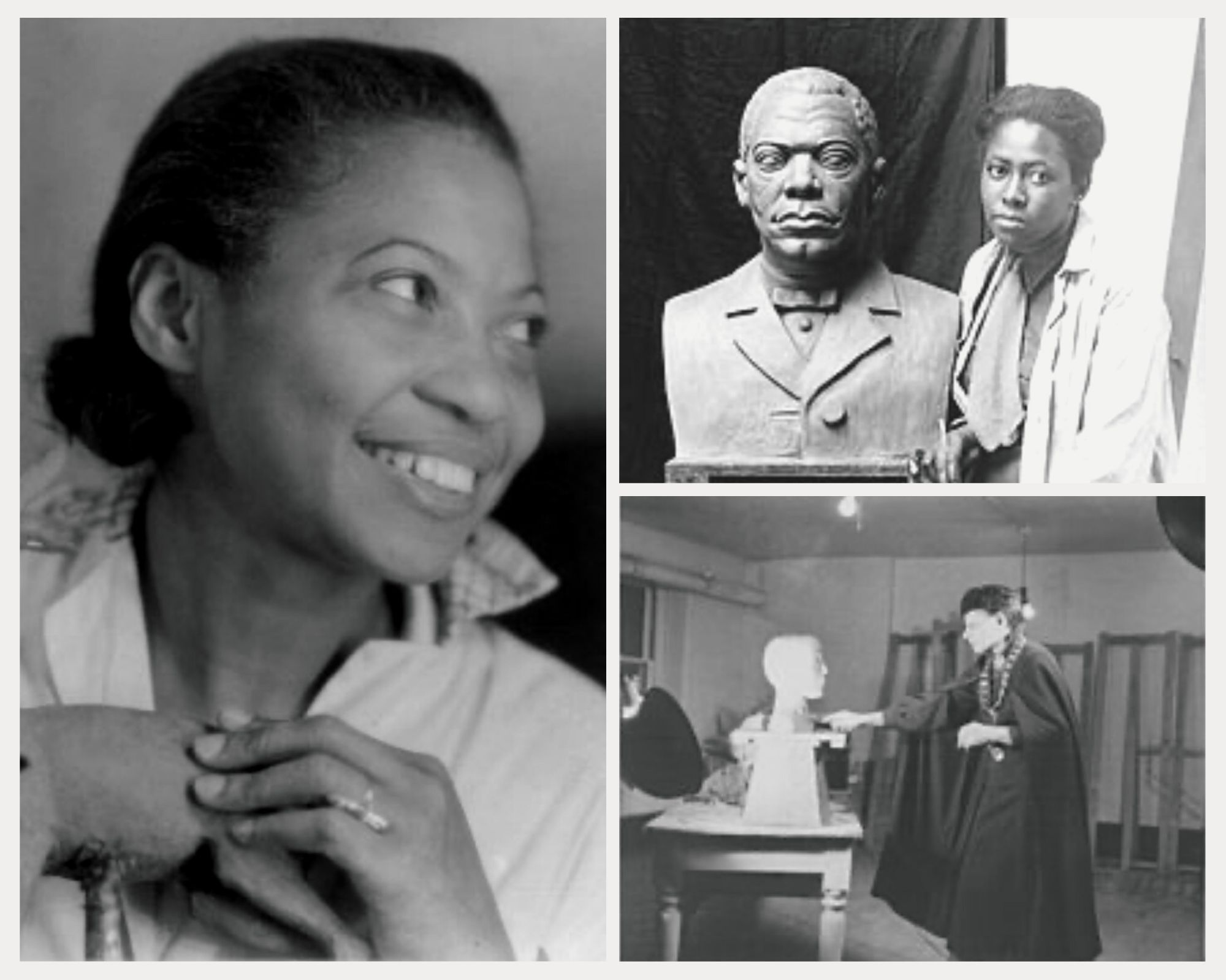 Rediscovered Women Artists: Three African American Women Sculptors – Augusta Savage, Selma Burke, and Elizabeth Prophet